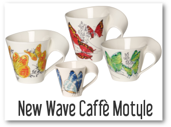 NEW WAVE CAFFEE MOTYLE OD VILLEROY BOCH