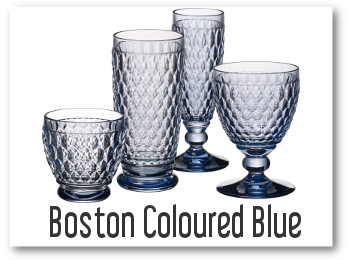KOLEKCJA BOSTON COLOURED BLLUE OD VILLEROY BOCH