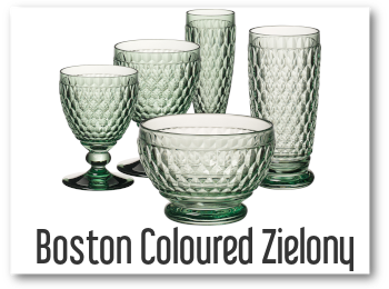 KOLEKCJA BOSTON COLOURED ZIELONY OD VILLEROY BOCH