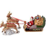 Figurka Sanki North Pole Express