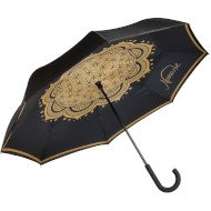 Flower of Life Black - Umbrella