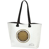 Flower of Life White - Bag