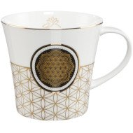 "Kubek ""Flower of Life White"""