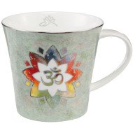 Om Green - Coffee-/Tea Mug