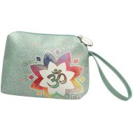 Om Green - Makeup Bag