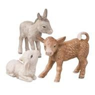 Set: Ox, Donkey and Sheep